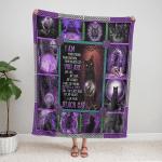 Wicca - I Am Black Cat 397 Fleece Blanket