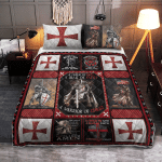 The Knights Templar god Warrior 115 Quilt Bed Set