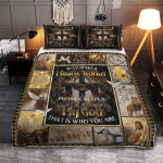 God - Way Maker, Miracle Worker 213 Quilt Bed Set