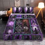 Wicca - I Am Black Cat 397 Quilt Bed Set