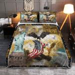 God Bless America 393 Quilt Bed Set