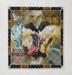 God Bless America 393 Quilt Blanket