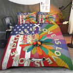 Love Is Love Pride Hippie American 409 Bedding set