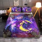 Wicca - Dragon Moon Magic 408 Quilt Bed Set