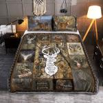 A Hunter's Prayer 411 Quilt Bed Set