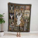 A Hunter's Prayer 411 Fleece Blanket