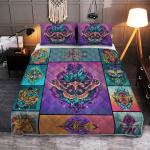 Wicca Lunar Moth 412  Quilt Bed Set