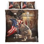 Lest We Forget American Memorial 414 Bedding set
