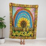 Hippe – Summer of Love 415 Fleece Blanket