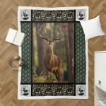 Deer Hunting 419 Sherpa Blanket