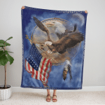 American Eagle 424 Fleece Blanket