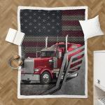 American Trucker 423 Sherpa Blanket