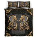 Viking Fenrir Wolf 419 Bedding set