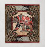 Native Bear Tattoo 421 Quilt Blanket