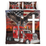 Jesus American Eagle Trucker 429 Bedding Set