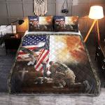 Lest We Forget American Memorial 428 Quilt Bed Set