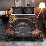 Proud Trucker 430 Quilt Bed Set