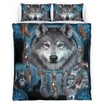 Native American Wolf 432 Bedding Set
