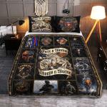 One A Marine, Always Marine 433 Quilt Bed Set