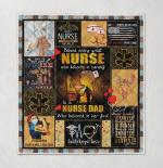 Behind Every Great Nurse Who Believes In Herself 435 Quilt Blanket
