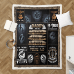Daddy, You Are My Favoutite Viking Dad 440 Sherpa Blanket