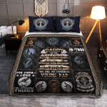 Daddy, You Are My Favoutite Viking Dad 440 Quilt Bed Set
