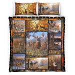 Deer Outside 350 Bedding set