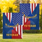 United States Navy American Eagle Veteran 33 Flag