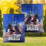 Stay Strong America Eagle 020 Flag