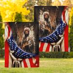 Flag Native American Chief Eagle Flag F006