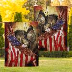 Flag Native American Warrior Eagle Flag F001