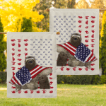 Sloth Wrapped In American 24 Flag