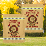 Being A Retired Firefighter Is An Honor 013 Flag