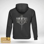 Man of God - Custom back Hoodie
