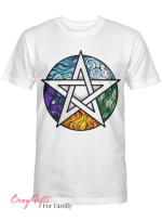 Wicca - pentagram T shirt
