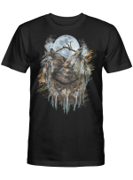 Native The Wolf T shirt