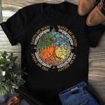 Wicca Tree Element T shirt