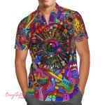 Hippie Guitar Hawaii Shirt H014