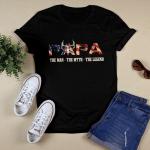 Papa the man, the myth, the legend T shirt