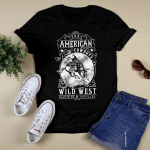 Flat Design_American Cowboys T shirt