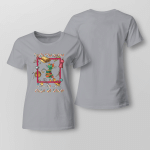 Easily Distracted By Cat & Fabric Ladies T shirt