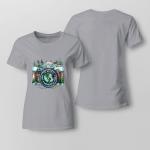 Hippie - To Myself. What A Wonderful World Ladies T shirt