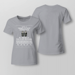 Christmas - Ave a merry funkin's Christmas By Order Of The Peaky Blinders Ladies T shirt