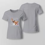 Chrismas - Walkin In A Wiener Wonderland Ladies T shirt