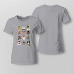 Christmas - Cats Ladies T shirt