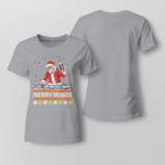 Chrismas - Merry Mimas Ladies T shirt
