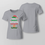 Chrismas - Santa's Favorite Respiratory The Rapist Ladies T shirt