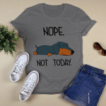 Funny - Nope. Not ToDay T shirt