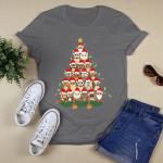 Christmas - Owl Tree T shirt