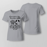 Woman - Who really loved dogs and guines pigs Ladies T shirt